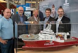 Havyard og Forland samarbeider med Bergen Maritime