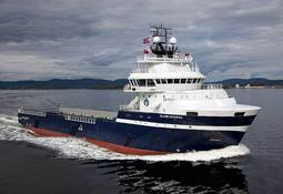 M/V Island Duchess levert til Island Offshore