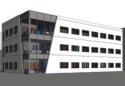 Investerer i nytt administrasjonsbygg ved verftet