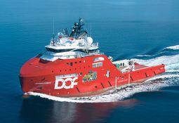 DOF-skip med kurs for Afrika
