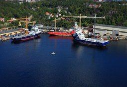 Vard sikrer kontrakt på 2 Offshore Support Vessels