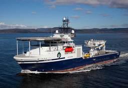 "Subsea konstruksjonsfartøyet ""Island Pride"" døpt"