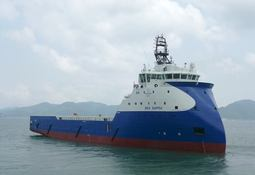 The ninth Ulstein designed Seatankers PSV delivered