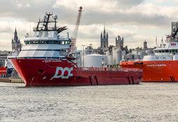 DOF forlenger PSV-kontrakter i Nordsjøen