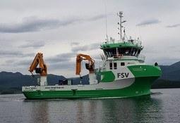 Skipsdåp på Aqua Nor