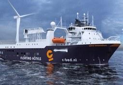 Design for ombygging av offshorefartøy