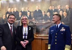 USCG hedrer Turid Stemre