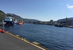 Bergen fikk avslag på støtte til landstrøm