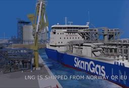 Skangas leverer Finlands første skipslast med LNG