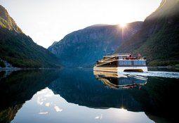 Turistbåtene sliter på verdensarvfjord