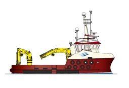 Havyard Leirvik bygger arbeidsbåt