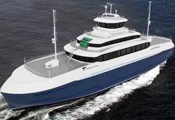 Pilot-E støtte til Fiskerstrand-ferge