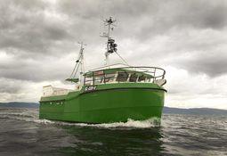 Satser på serieproduksjon av elektriske fiskebåter