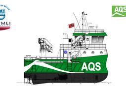 Fitjar Mek. bygger arbeidsbåt til AQS