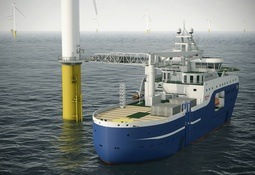 ABB leverer til fransk vindservice-skip