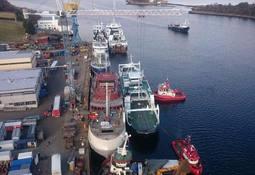 Fiskerstrand Verft: Et krevende år