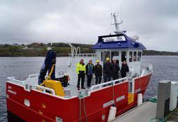 Arbeidsbåt overlevert NRS Finnmark