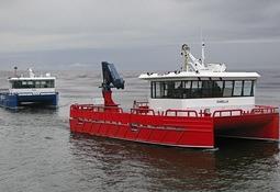 To nye Risnesbåter overlevert Marine Harvest Norway