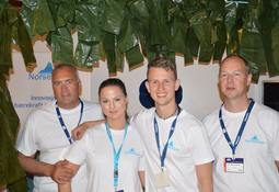 Aqua Nor: Gardintare-grûnder satser på Petter Smart løsninger