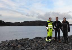Nyoppstarta rognkjeks-anlegg på Fitjar