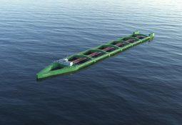 Ny type oppdrettskip for offshore lakseproduksjon
