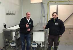 Tester nytt fôringsanlegg i Flekkefjord