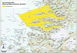 Bekjempelsessonen for ILA i Meløy kommune er opphevet