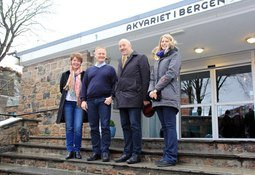 NIFES inngår samarbeid med Akvariet i Bergen