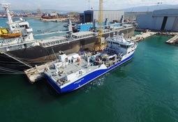 Spesial-brønnbåten «Inter Caledonia» levert til Intership