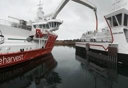 Nye båter og fôrflåte levert til Marine Harvest