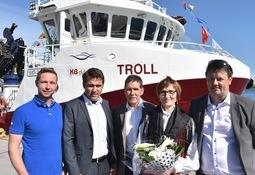 Dåp og Troll-party i Rørvik