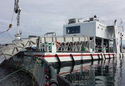 Avluste 10 000 tonn laks fyrste månad i drift