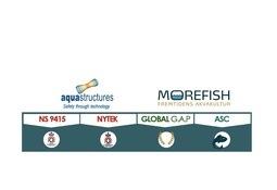 Aquastructures og MorefishNorway inngår samarbeid rundt sertifiseringstjenester
