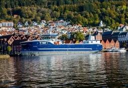 Den nye brønnbåten «Seihav» kan laste 550 tonn levende fisk