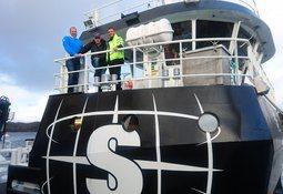 Servicebåt AS mottok nybygg