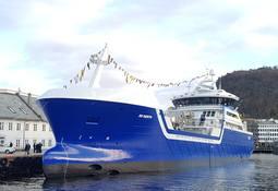 Døpte brønnbåt og feiret 35-års jubileum