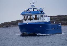 M/S «Rognkallen» levert fra Folla Maritime