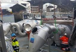 Ferdigstiller installering av avlusere på supplybåt