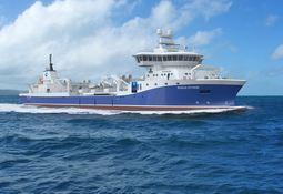Verdens største brønnbåt leveres fra Havyard