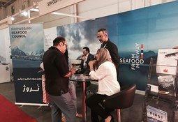 Norske sjømateksportører på plass i Iran