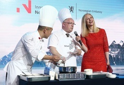 Norsk sjømatnæring tar ny sats i Kina