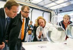 Nordiske statsministrar lærte om kveiteoppdrett