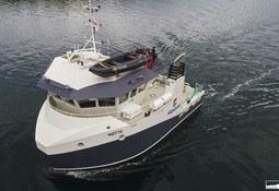 «Nøtte» i arbeid hos Måsøval Fiskeoppdrett