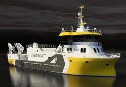 Napier kontraherer ny prosessbåt