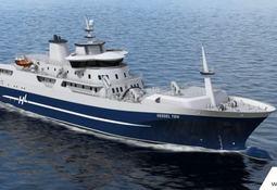 Wärtsilä-design bak verdens første hybride fiskeproduksjonsfartøy