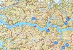 Ny rapport: Innkrysning av rømt oppdrettslaks i Sognefjorden