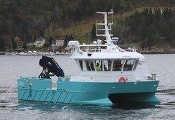 Heimdall levert til Kvarøy Fiskeoppdrett