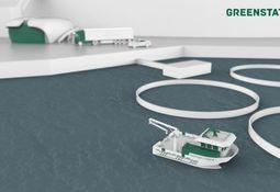 Hydrogendrevet arbeidsbåt med lokalprodusert drivstoff
