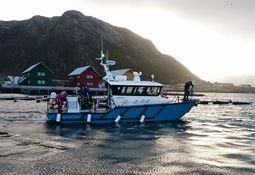 Martec leverte båt til Aqua kompetanse