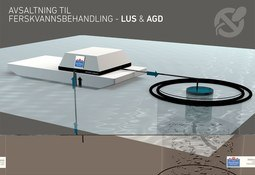 Utvikler metode for skånsom behandling av lakselus og AGD med bruk av avsaltet sjøvann